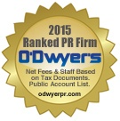 T/K Makes O'Dwyer's 2015 Rankings List