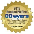T/K Makes O'Dwyer's 2015 Rankings List