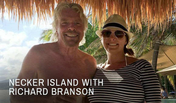 Entrepreneurial Retreat on Richard Branson's Private Island